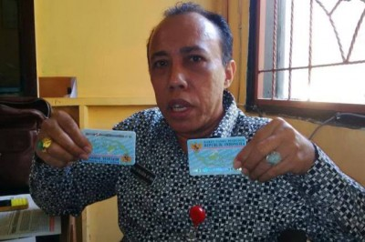 Kepala Dinas Dukcapil Kabupaten Bima Drs. Sirajudin AP, MM. Foto: Bin