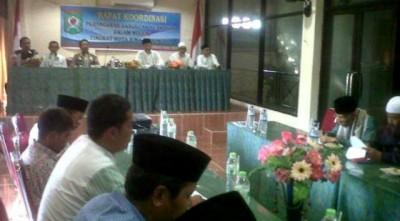 Rapat Koordinasi membahas LDII Bima. Foto: Erde