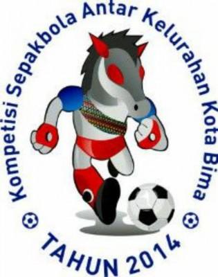 Maskot Kompetisi Sepakbola Antar Kelurahan Kota Bima Tahun 2014.