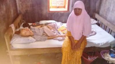 Nurmi berharap Pemerintah membantu kesembuhannya. Foto: Bin