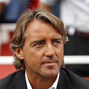 Pelatih asal Italia, Roberto Mancini.