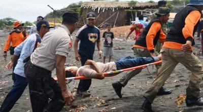 Gladi Lapang Erupsi Sangiang Api. FotoL Hum