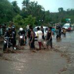 Banjir di Batas Kota, Lalu Lintas Macet