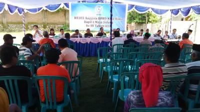 Suasana Reses sepi di Kelurahan Penatoi. Foto: Bin