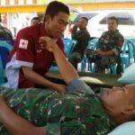 Kodim Bima Gelar Kegiatan Donor Darah
