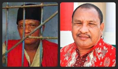 Tukang las keliling, Paimo dan Ketua PN Raba Bima Syahruddin, SH. Foto: Teta/Bin