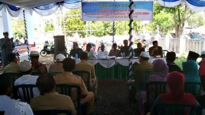 Reses Dewan di Kecamatan Raba. Foto: Bin