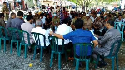 Reses Dewan Kota Bima Dapil III di Kecamatan Raba. Foto: Bin