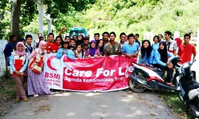 Anggota BSMI dan KSM foto bersama usai kegiatan. Foto: Bin