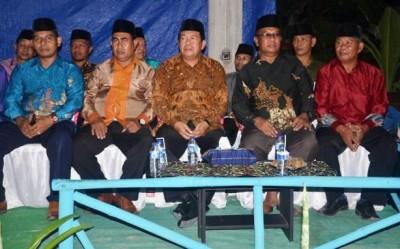 Bupati Bima saat menghadiri Pembukaan MTQ Kecamatan Madapangga. Foto: Hum