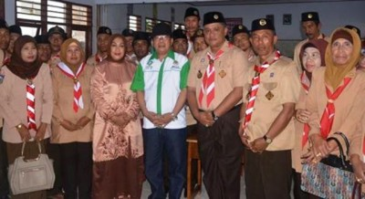 Foto bersama usai Kegiatan Orientasi Mabigus Gerakan Pramuka. Foto: Hum