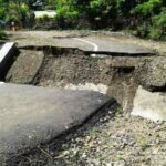 Tiga Bulan Dibangun, Jembatan Desa Sowa Roboh