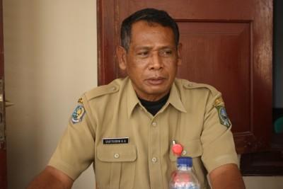 Kadis Pariwisata dan Kebudayaan Kabupaten Bima Drs. Syafruddin HA. Foto: Bin
