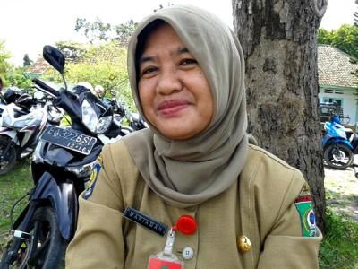 Kepala Dinas Dukcapil Kota Bima Mariamah, SH. Foto: Teta