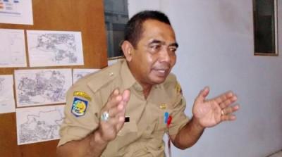 Kepala Dinas Tata kota dan Perumahan Hamdan. Foto: Bin