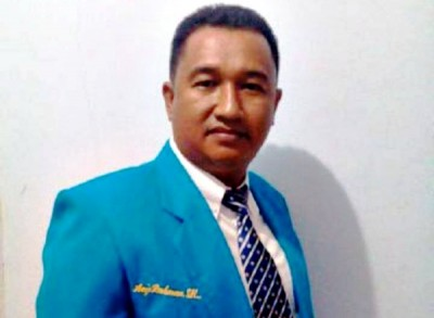 Ketua Bidang Hukum dan Politik KNPI Kota Bima Arief Rahman, MH. Foto: Teta
