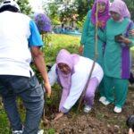 Program Perempuan Menanam, PKK Tanam Pohon di Doro Kalate