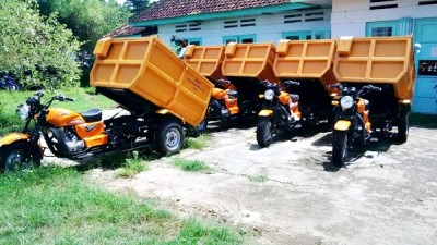Motor Bantuan Y Consultant Belanda. Foto: Bin