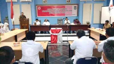 Wakil Walikota Bima saat memberikan sambutan. Foto: Erde