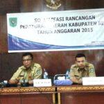 Pemkab Bima Sosialisasi Draft Raperda Tatacara Pilkades