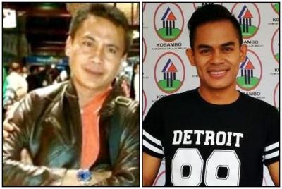 Ketua DPRD Kota Bima Feri Sofyan dan Talenta Muda Bima Ady Kasipahu.