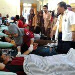 Alumni 92 SMAN 1 dan PWI Gelar Donor Darah