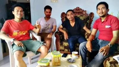 Empat pegawai Bank BRI Cabang Bima yang di PHK. Foto: Bin