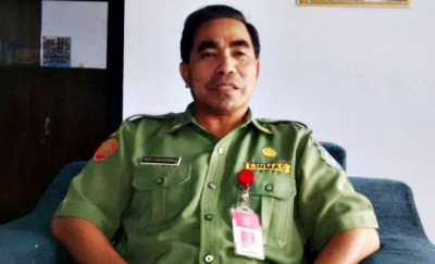 Kepala BPBD Kota Bima Drs. H. Fakhrunraji, MM. Foto: Bin