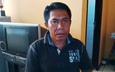 Ketua DPC Aliansi Indonesia Cabang Bima, Husni. Foto: Bin