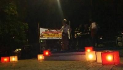 Parade Puisi yang digelar KSM. Foto: Bin