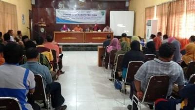 Pembahasan Program Strategis Kabupaten Bima oleh Forum PPID. Foto: Bin