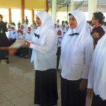 598 Honorer Pemkab Bima Terima SK CPNSD