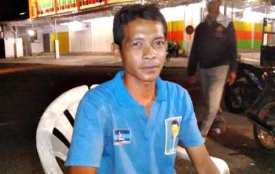 Zainul Arifin, pria yang istrinya dibawa kabur oknum PNS. Foto: Bin