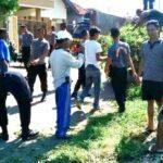 Polisi dan Pemerintah Gelar Gotong Royong di Santi
