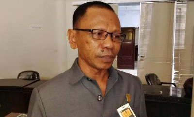 Ketua Pansus LKPJ Walikota Bima, Najamuddin. Foto: Bin