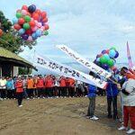 Ribuan Mata Saksikan Launching Bhakti HUT Kota Bima ke-13