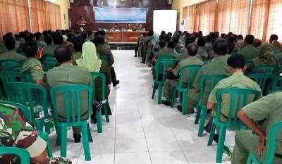 Rakor Swasembada Pangan dengan TNI AD. Foto: Hum