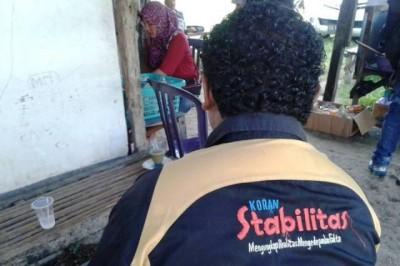 Syafruddin Wartawan yang diancam dibunuh. Foto: Bin