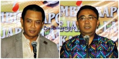 AKBP. IGPG. Ekawana Prasta, S. Ik dan  AKPB. Gatut Kurniadin, SH S. Ik. Foto: Bin