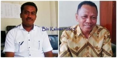 Anggota DPRD Kota Bima, M. Irfan S.Sos MSi dan Nazamudin. Foto: Bin