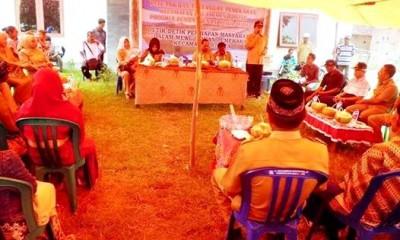 Bupati Silaturahim Dengan Warga Sondo-Monta. Foto: Hum