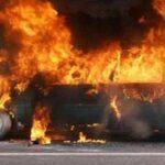 Mobil Meledak, Warga Panik