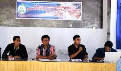 Kegiatan pembentukan pengurus DPC Patelki Bima. Foto: Bin