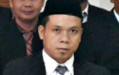 Ketua Panwaslu Kabupaten Bima Abdullah, SH. Foto: Erde