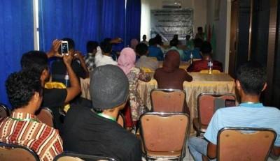 Pelatihan Guide (Pemuda Wisata) di Hotel Lambitu Kota Bima. Foto: Erde