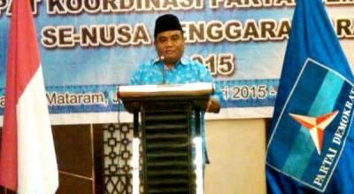 Pengurus DPD Partai Demokrat Provinsi NTB Surya Putra Dinata.
