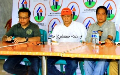 Promotor Ady Bima, H. Sutarman, Manager Lalu Dahmar dan Kreator Saad Bima. Foto: Bin
