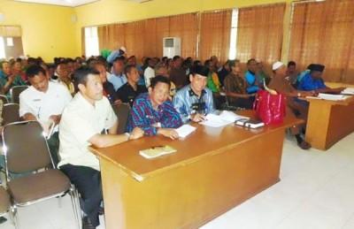 Rapat Persiapan Pemilihan Kepala Desa Secara Serentak. Foto: Hum