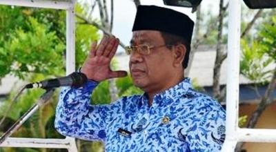 Sekretaris Daerah Kabupaten Bima Drs. H. Taufik HAK, MSi. Foto: Hum