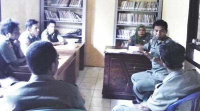 Tim Juri Lomba Desa menilai Desa Ranggasolo Kecamatan Wera. Foto: Hum